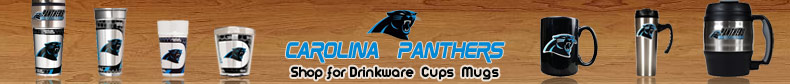 Shop NFL Carolina Panthers Drinkware - Cups - Mugs Merchandise