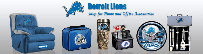 Shop NFL Detroit Lions Home & Office Merchandise