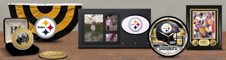 Shop NFL Pittsburgh Steelers Memorabilia & Wall Decor Merchandise