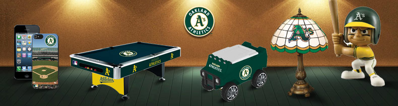 Shop MLB Oakland Athletics For The Game & Electronics Merchandise