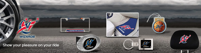 Shop NBA Washington Wizards Auto Accessories Merchandise