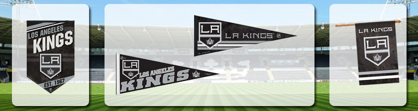 Shop NHL Los Angeles Kings Flags & Banners Merchandise